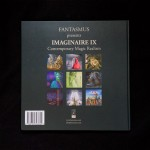 """Imaginaire IX"" book back side"