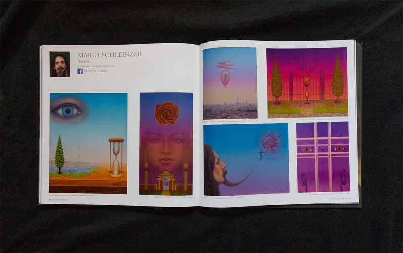 Paintings of Mario Schleinzer in the art book